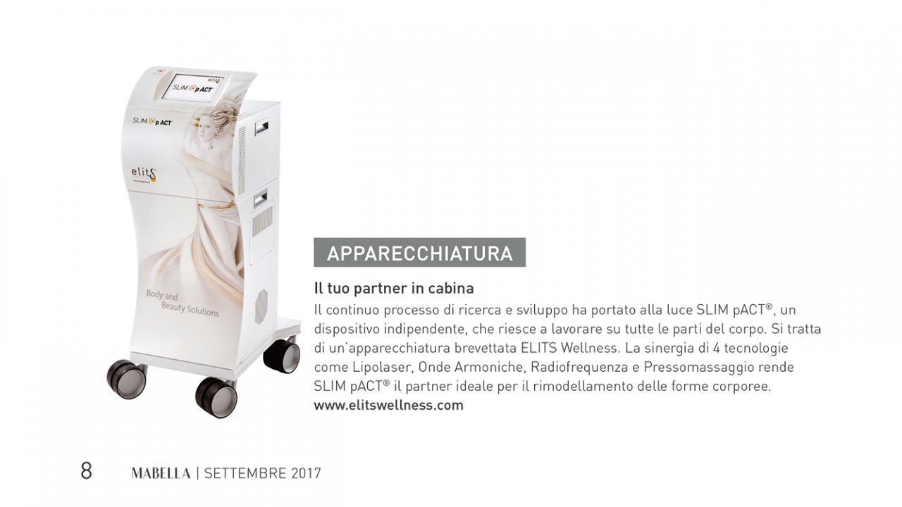 """SLIM pACT sulla rivista specialistica """"MABELLA"""""""