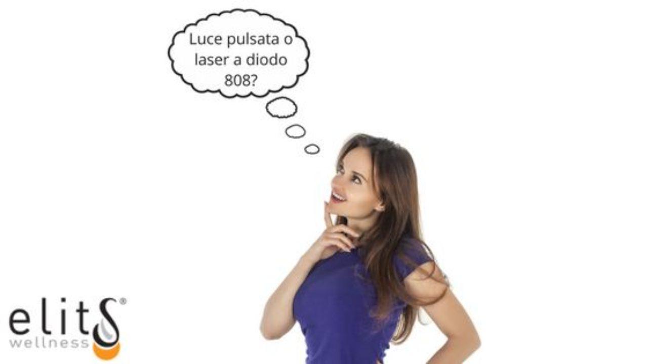 Luce Pulsata o Laser a Diodo 808?